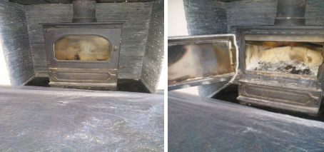 Stove 1 Before and After