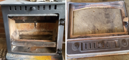 Stove 3 Before and After