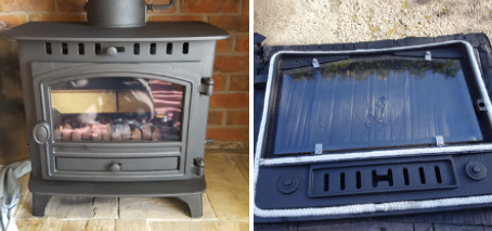 Stove 4 Before and After